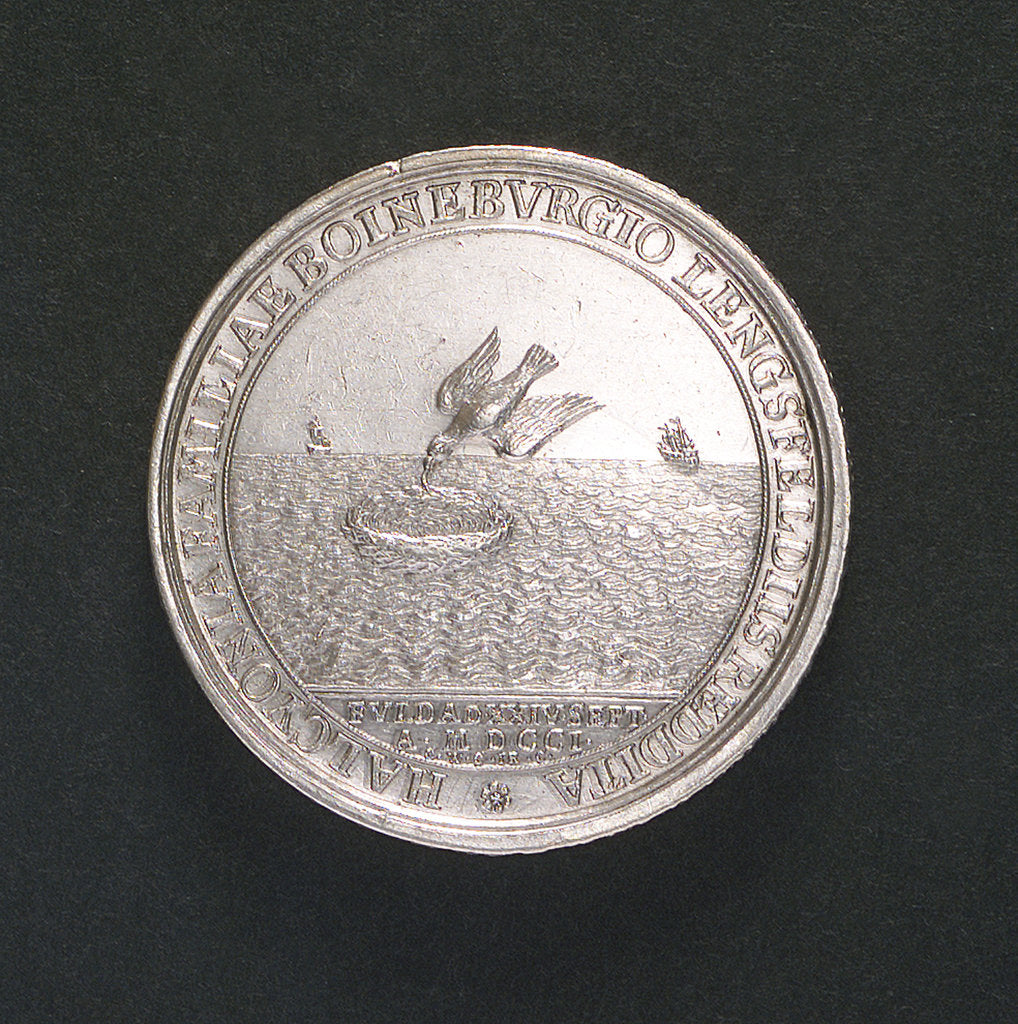 Medal commemorating the settlement of the dispute between Adalbert I and the Boineberg family; obverse by C. Wermuth