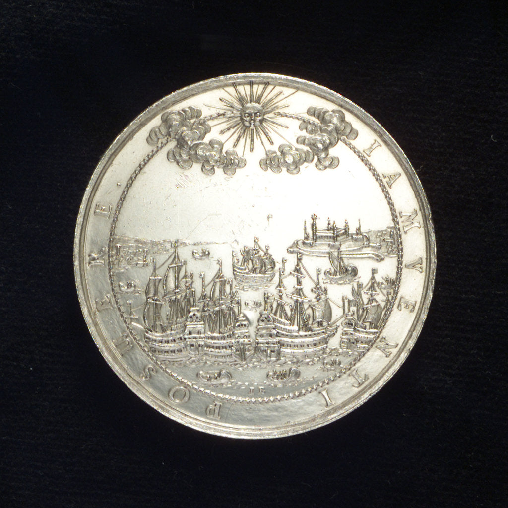 Medal commemorating the Peace of Oliva, 1660; reverse by J. Bensheimer