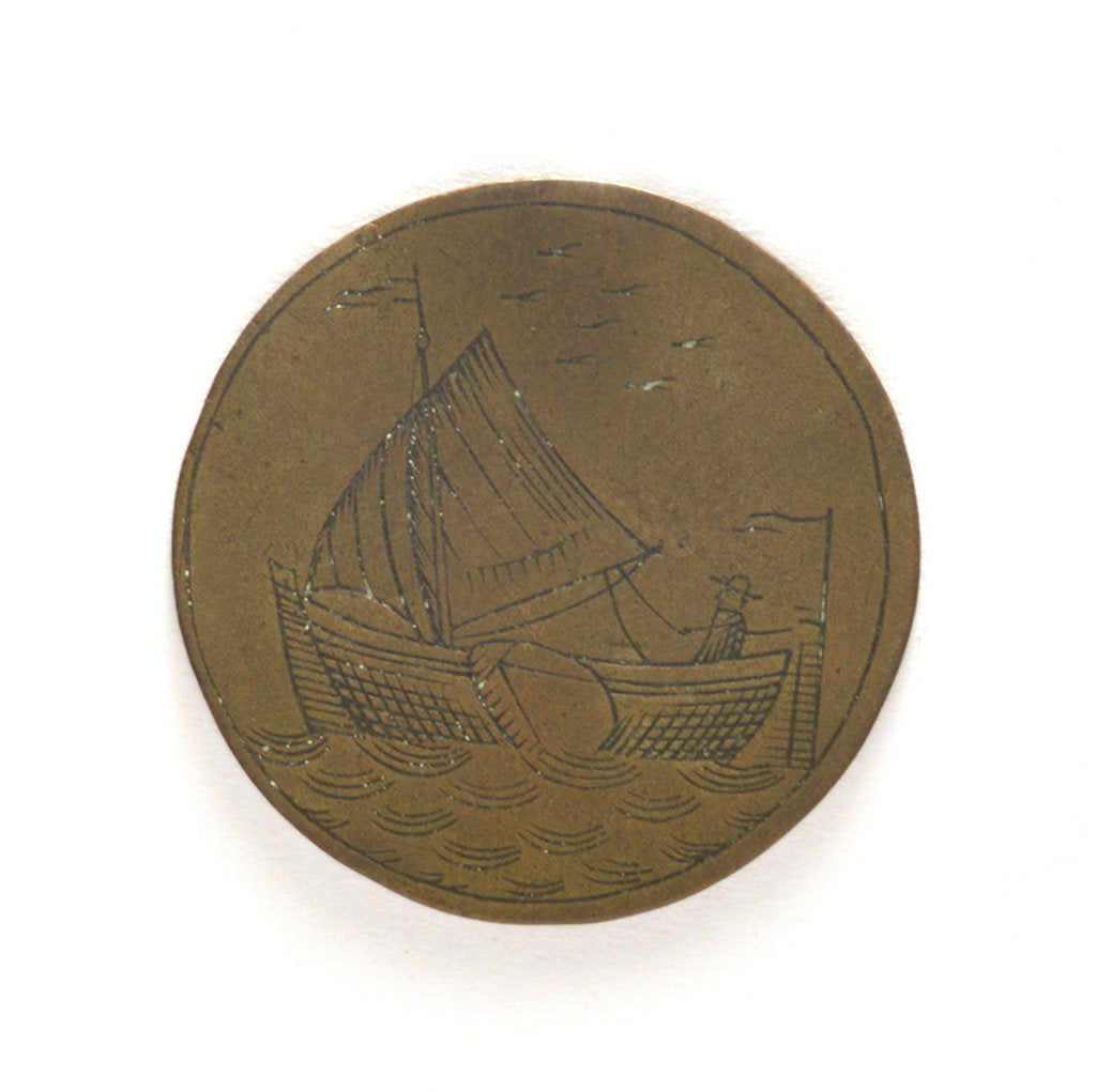 Badge of the Boatmen's Guild of Amsterdam; obverse by unknown