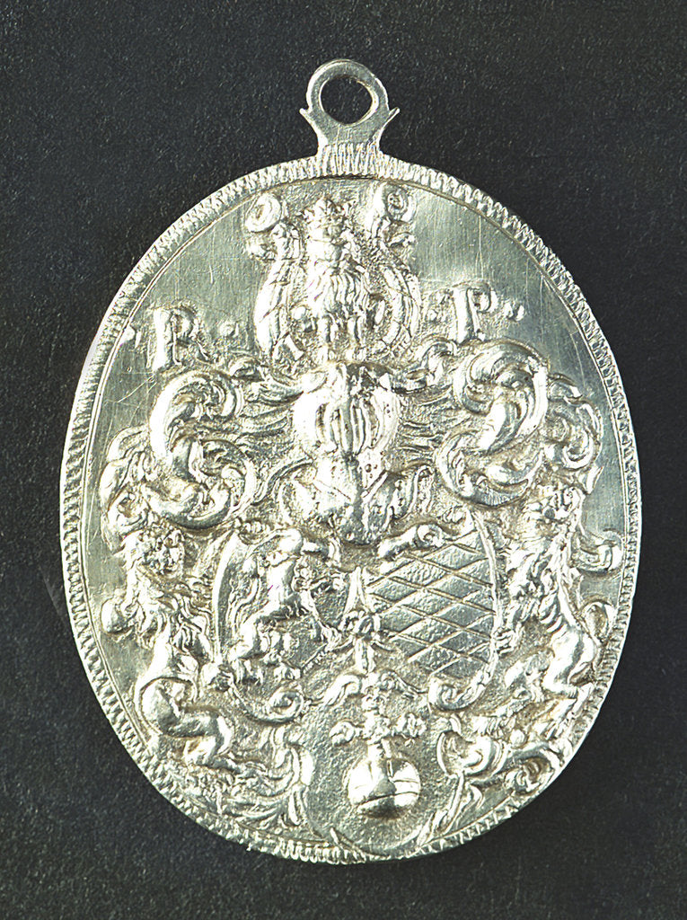 Detail of Medal commemorating Prince Rupert Admiral and General (1618-1652); reverse by unknown