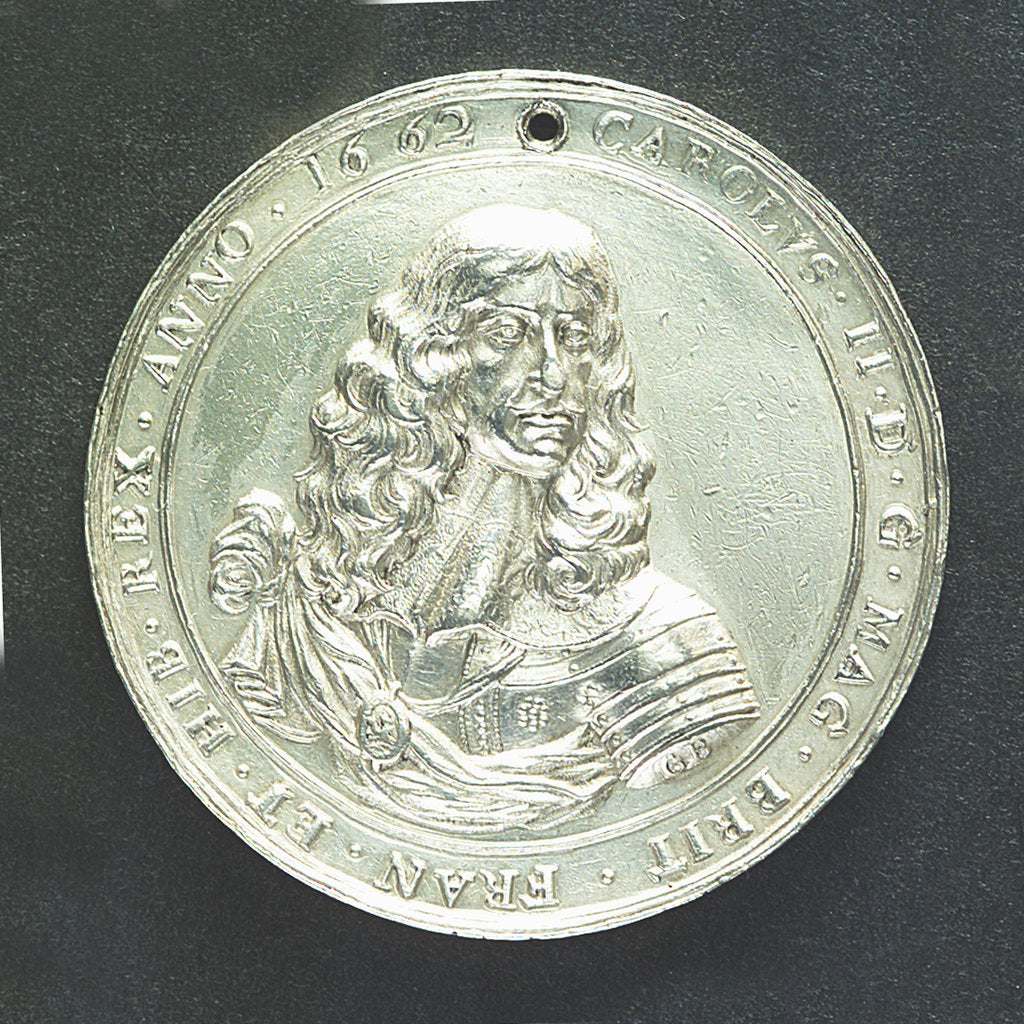 Medal commemorating disputes with Holland; obverse by G. Bower