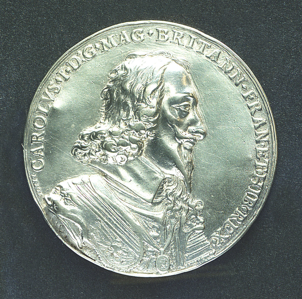 Detail of Medal commemorating the dominion of the sea; obverse by Nicholas Briot