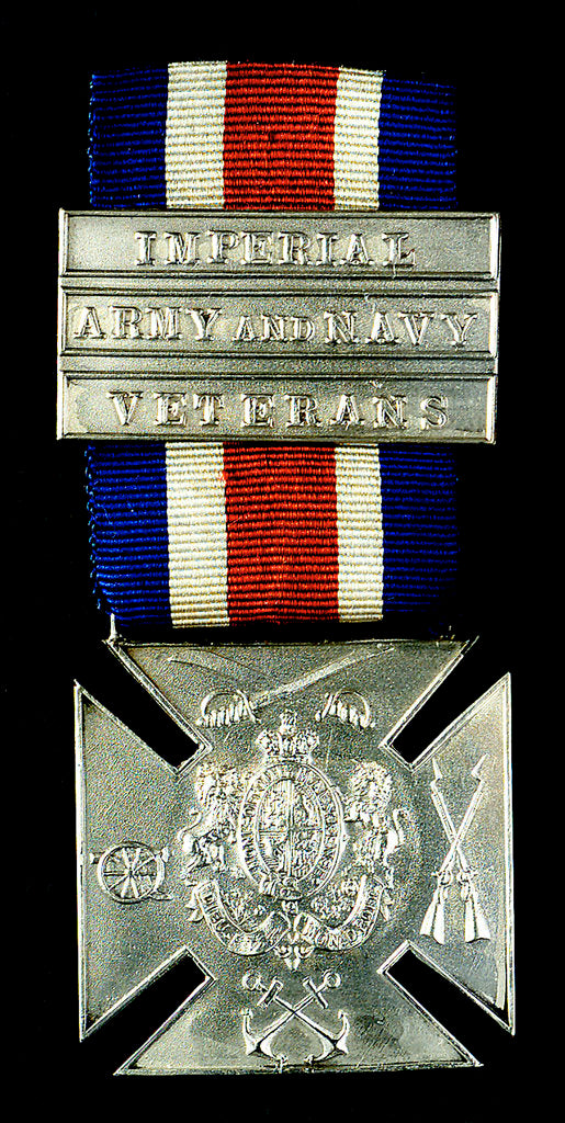 Detail of Medal commemorating the Imperial Army and Navy Veterans; obverse by unknown