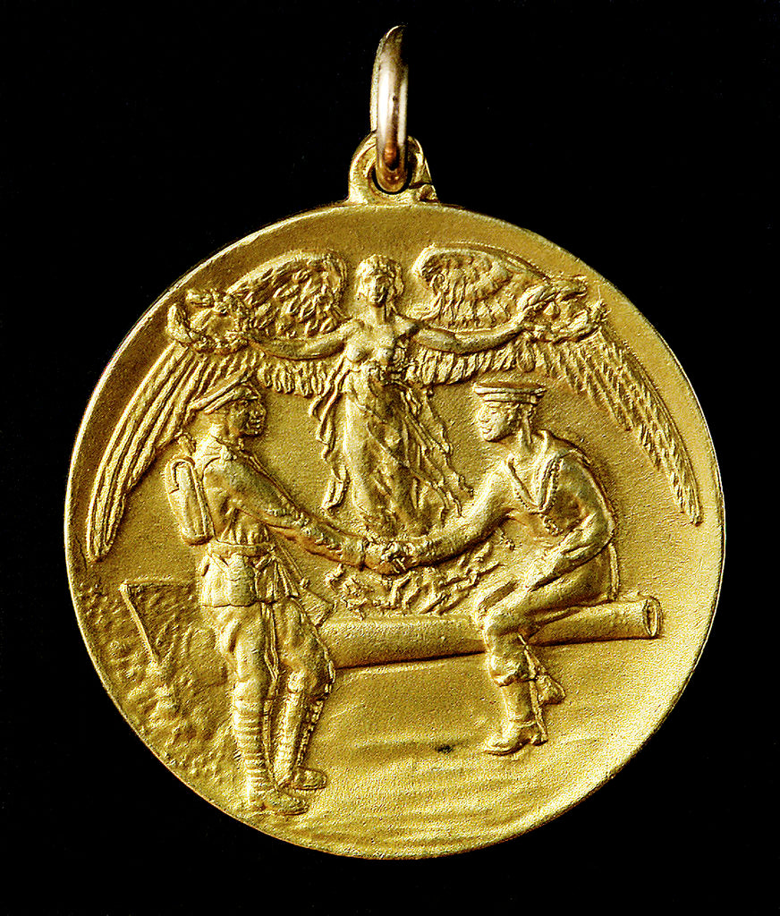 Detail of Medal, Barnburgh's Memento; obverse by unknown