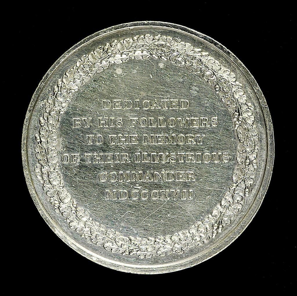 Medal commemorating Admiral Sir John Duckworth; reverse by George Mills
