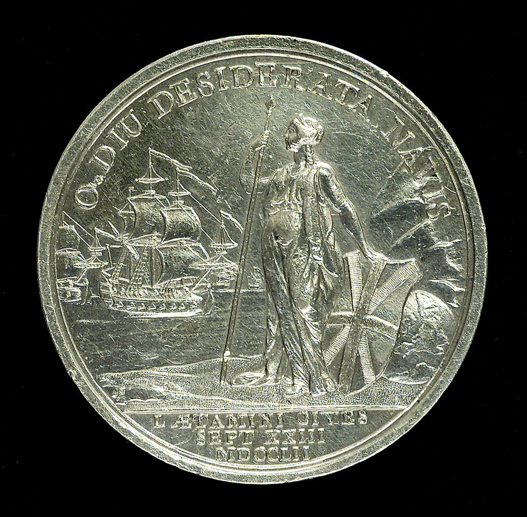 Detail of Medal commemorating Charles Edward Stewart (1720-1788); reverse by unknown