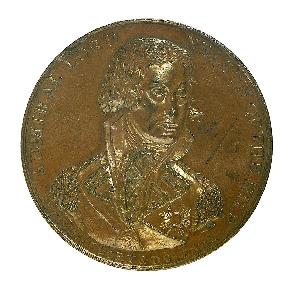 Medal commemorating the Battle of the Nile, 1798; obverse by unknown