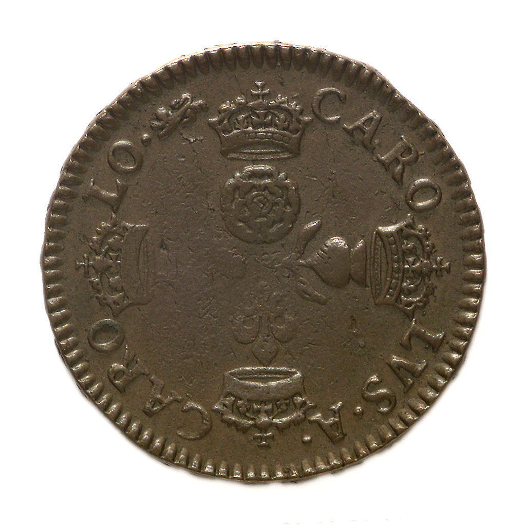 Detail of Coin pattern commemorating the dominion of the sea; obverse by unknown