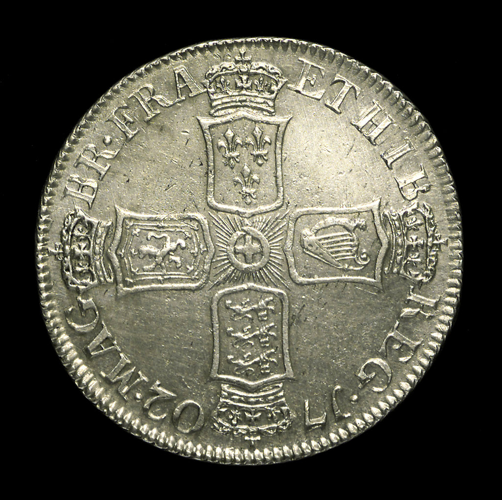 Detail of Shilling; reverse by unknown