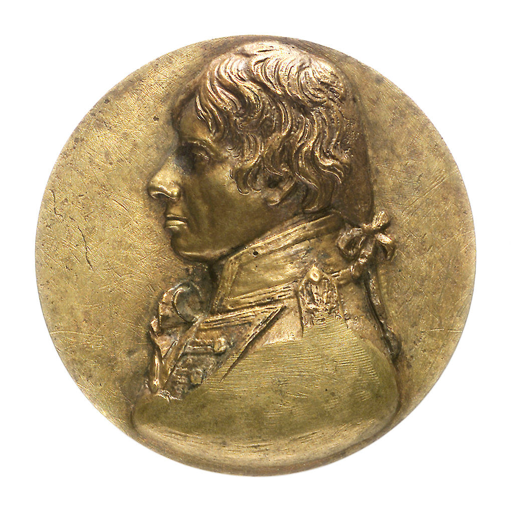 Trial piece commemorating Vice-Admiral Horatio Nelson (1758-1805); obverse by unknown