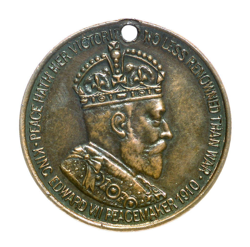 Detail of Medal commemorating the British and Foreign Sailors Society; obverse by unknown