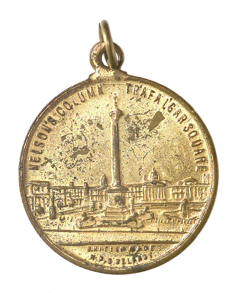 Detail of Medal commemorating the British Empire Exhibition, 1924; obverse by N.P.O.