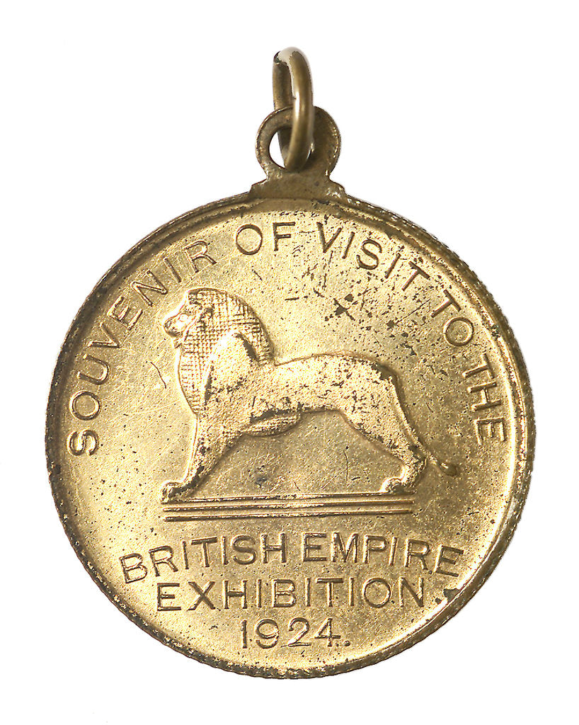 Detail of Medal commemorating the British Empire Exhibition, 1924; reverse by N.P.O.
