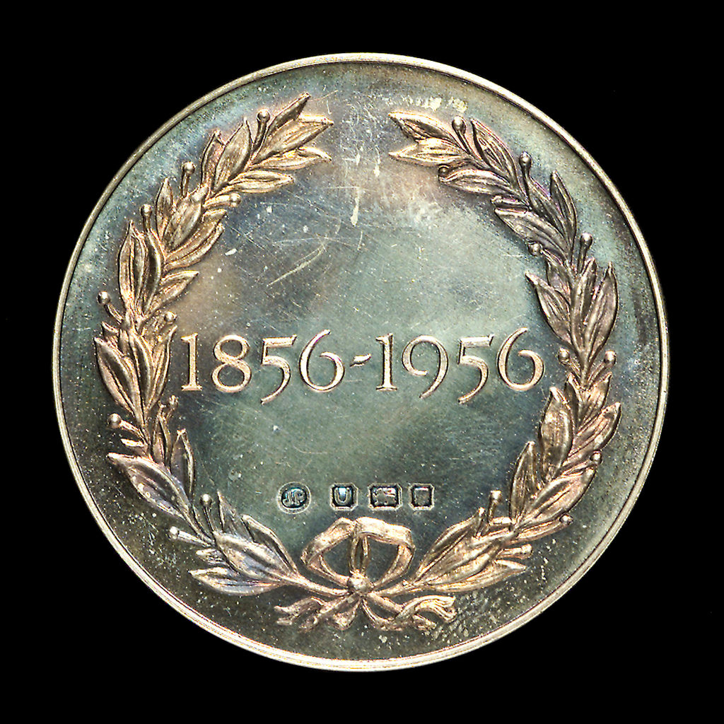 Detail of Medal commemorating the centenary of the British India Steam Navigation Company, 1956; reverse by J.R. Pinches