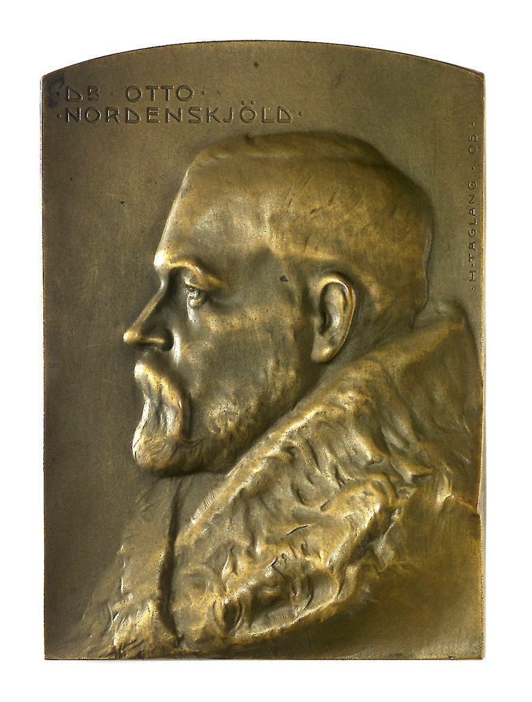 Detail of Medal commemorating Dr Nils Otto Gustav Nordenskj by H. Taglang