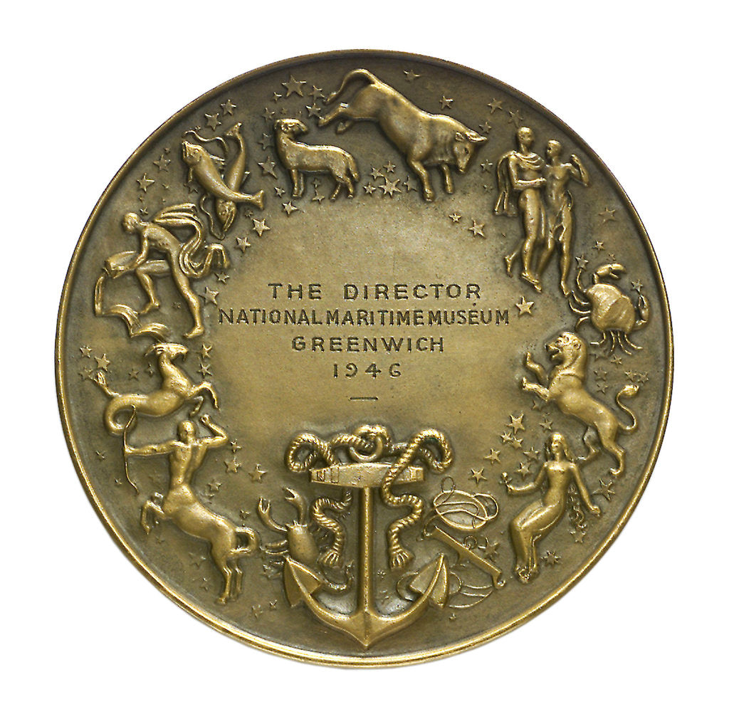 Detail of Medal commemorating the Salon de la Marine; reverse by unknown