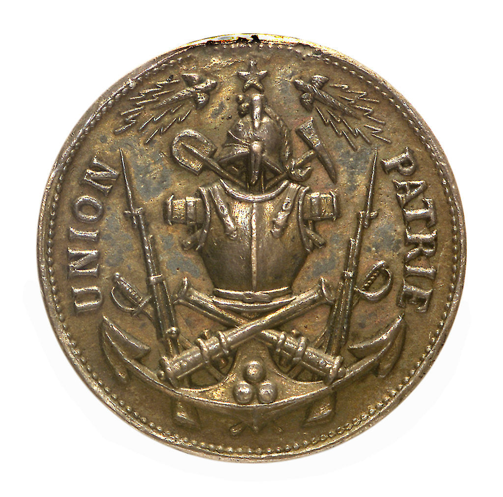 Detail of Medal commemorating the Army and Navy Under-Officers Association; obverse by unknown
