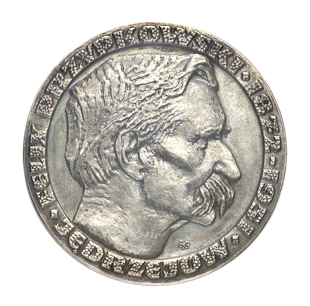 Detail of Medal commemorating Felix Przypkowski (1872-1951); obverse by unknown