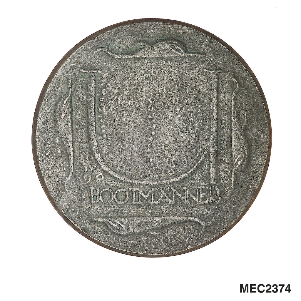 Medal commemorating U-boatmen by Josef Gangl