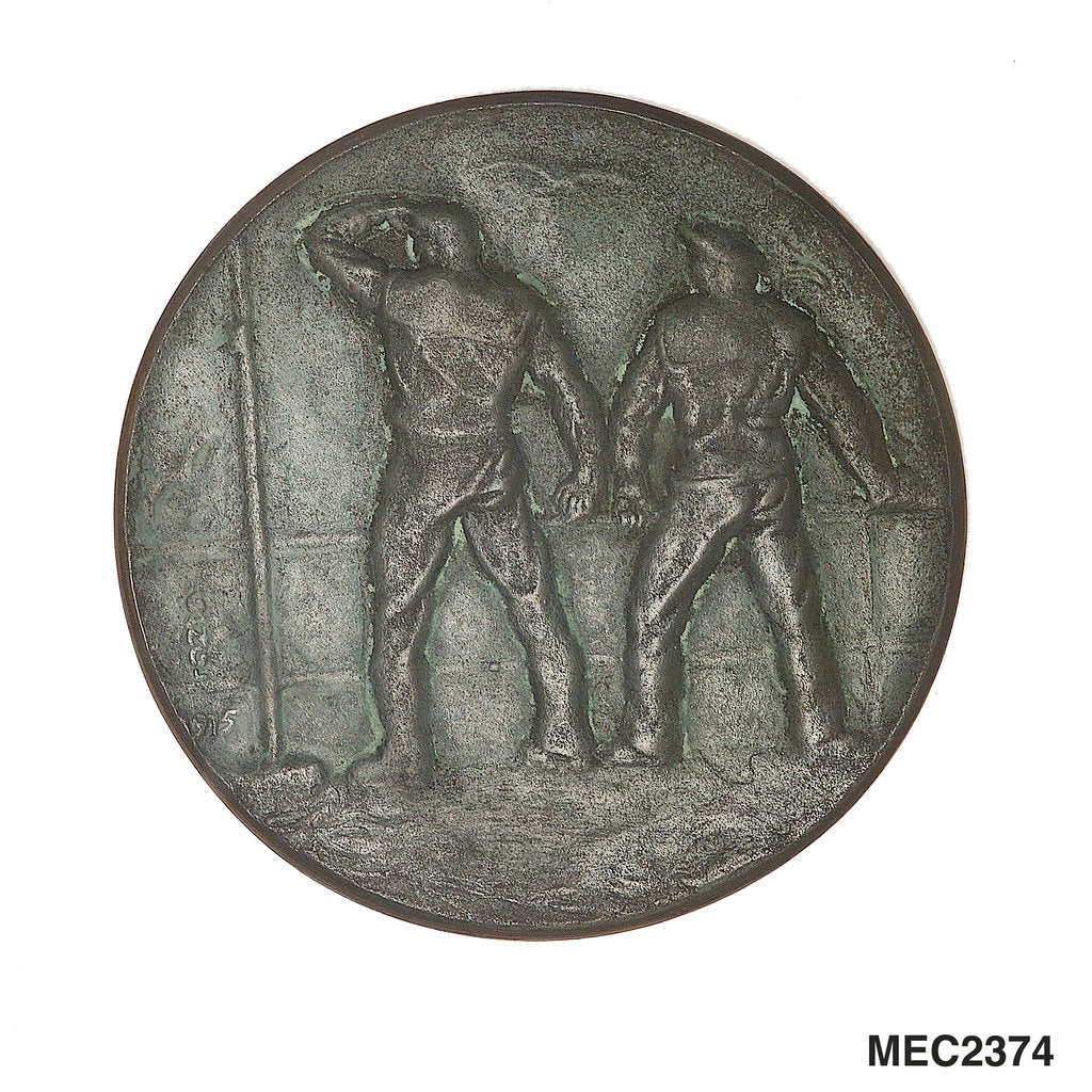 Detail of Medal commemorating U-boatmen by Josef Gangl