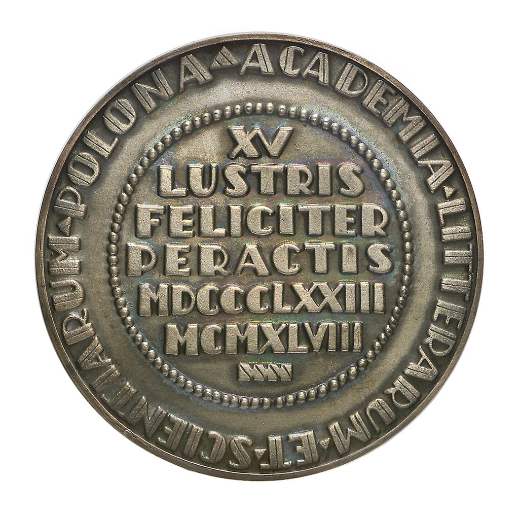 Detail of Commemorative medal depicting Nicholas Copernicus (1473-1543); reverse by F. Kalfas