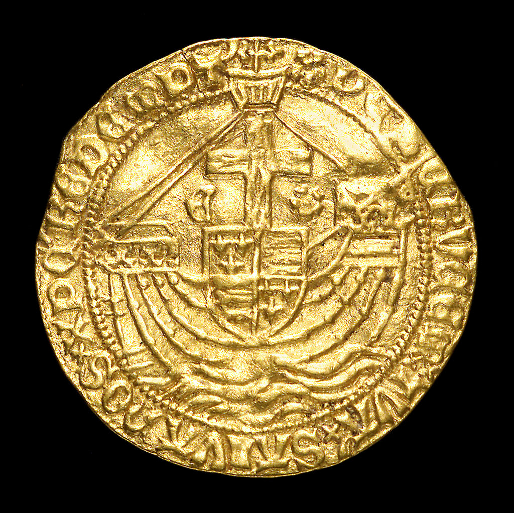 Detail of Coin - angel; reverse by unknown