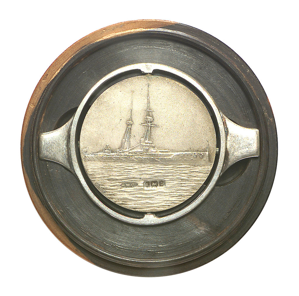 Detail of Medal commemorating HMS 'St Vincent'; reverse by Welham Manufacturing Company