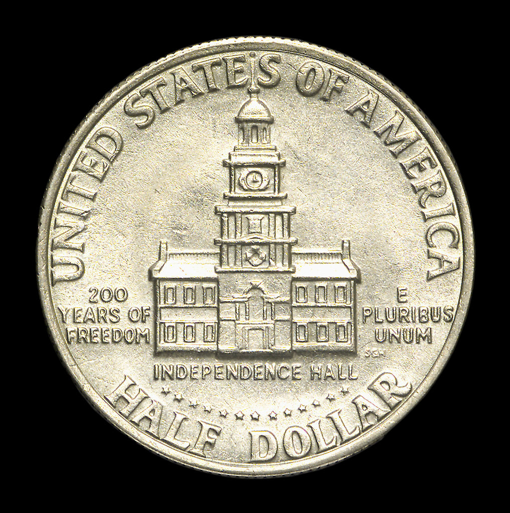 Detail of Half-dollar; reverse by unknown