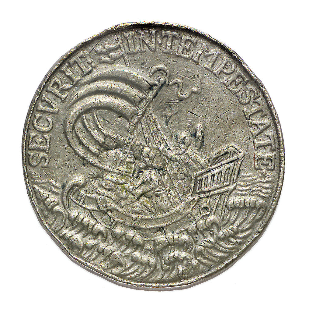 Detail of Commemorative medal depicting St George; reverse by unknown