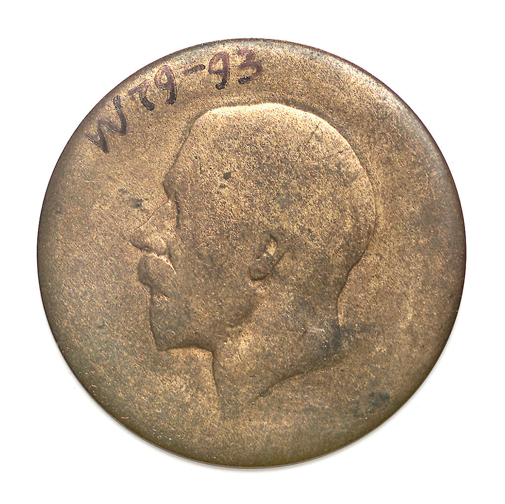 Detail of Penny; obverse by unknown