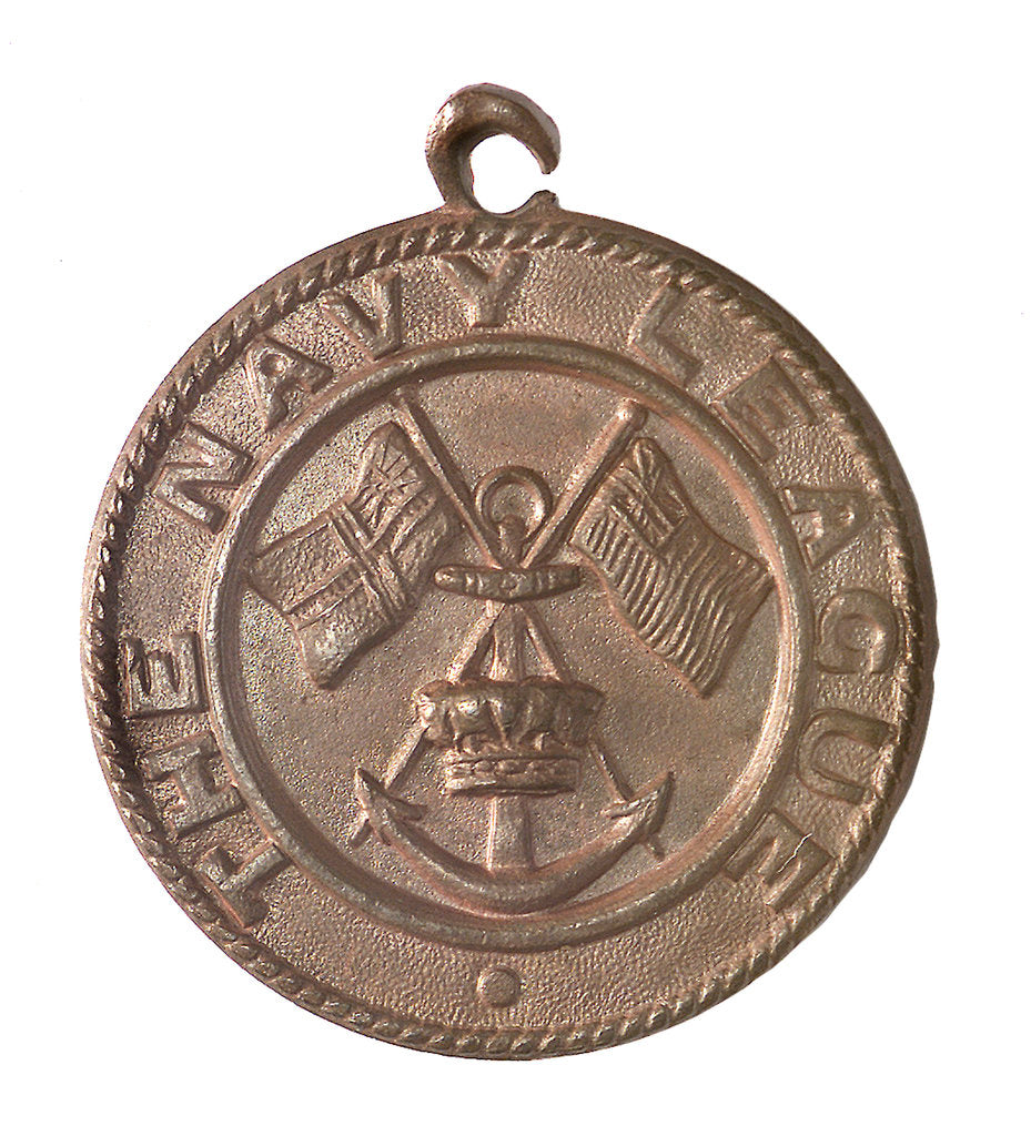 Detail of Medal commemorating the Navy League; obverse by unknown