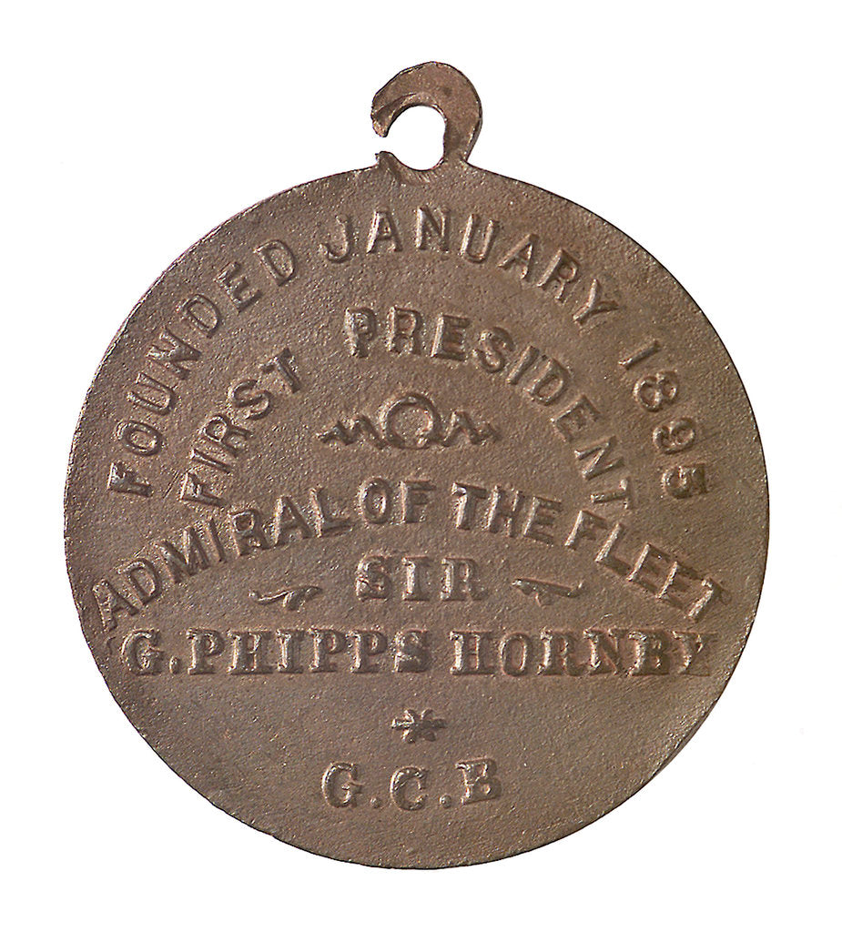 Detail of Medal commemorating the Navy League; reverse by unknown