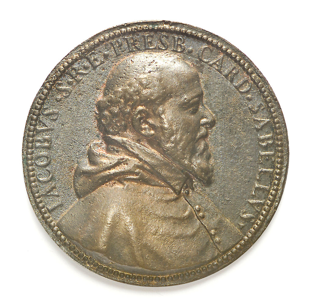 Detail of Medal commemorating Jacob Sabellus; obverse by unknown