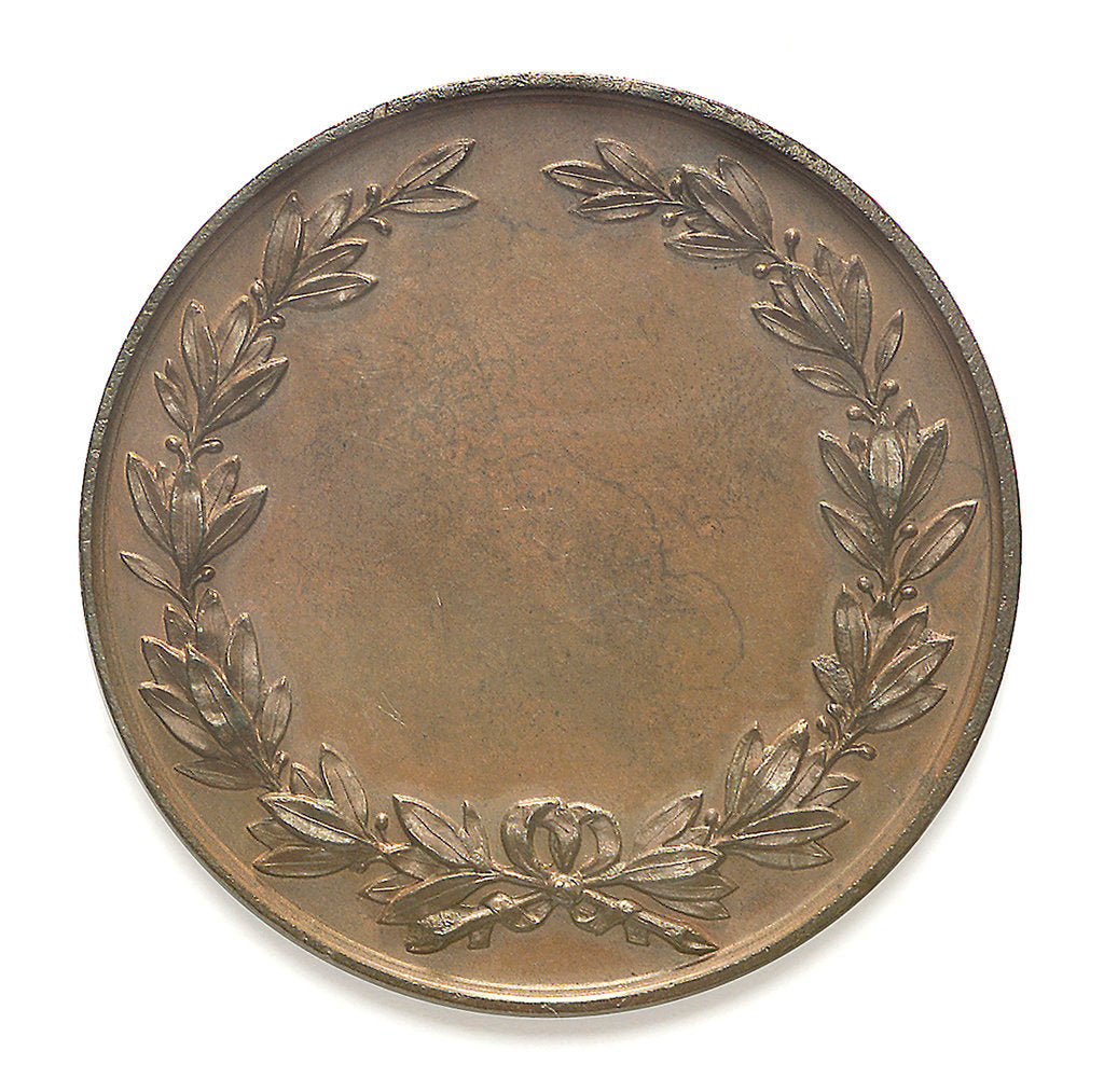 Detail of Medal of the Maritime and Piscatorial Exhibition - 1877; reverse by Elkington & Co. Ltd.