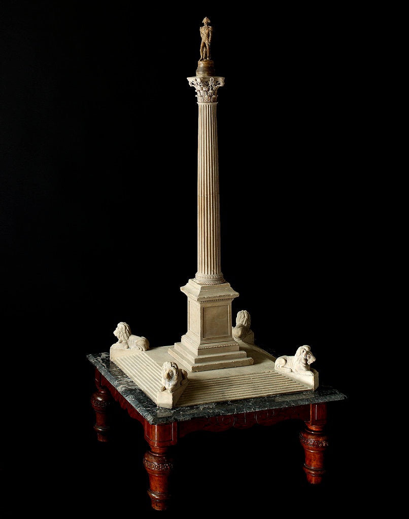 Detail of Architect's model of Nelson's Column by William Railton