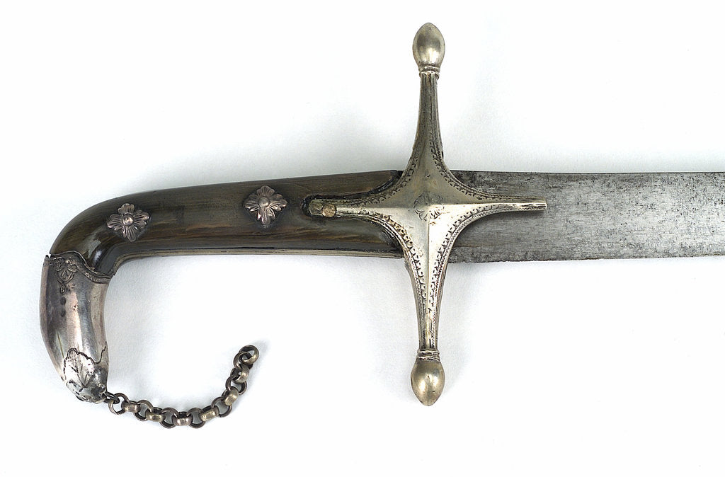 Detail of Hilt of Turkish scimitar by unknown