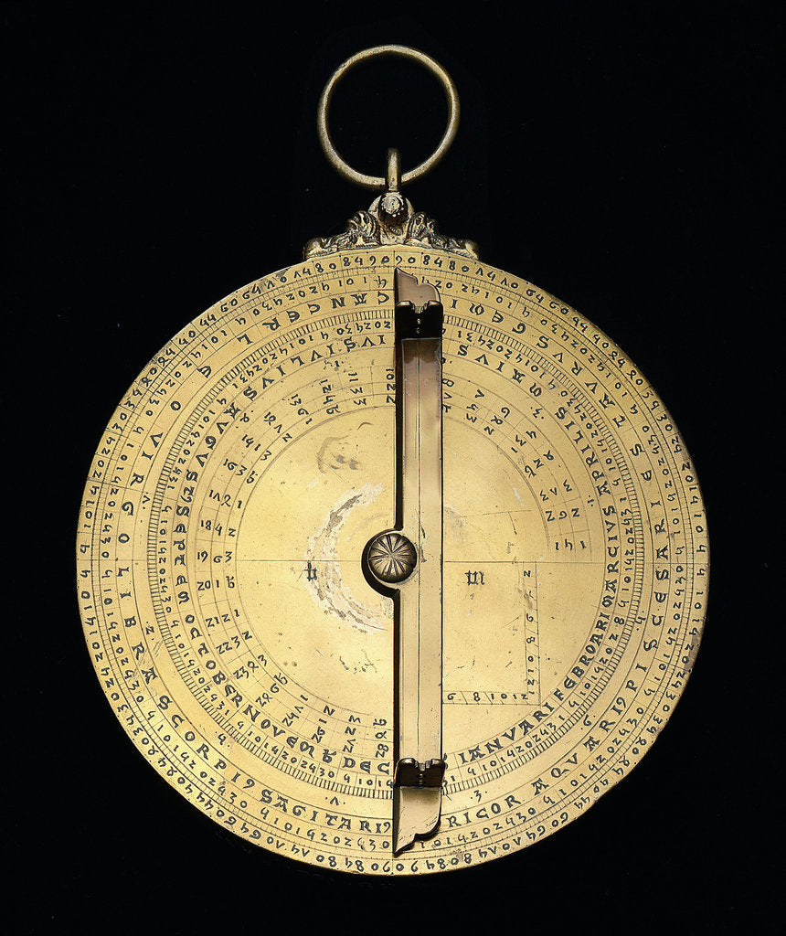 Caird Astrolabe: mounted reverse by unknown