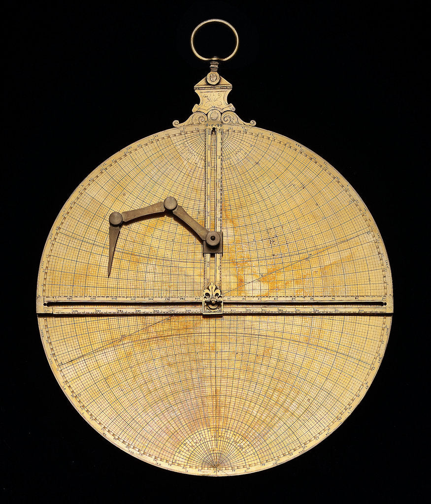 Detail of Astrolabe: mounted reverse by Heidelberg School