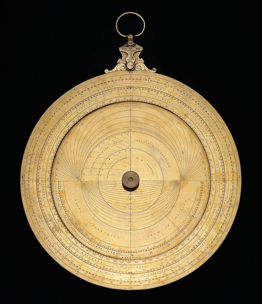 Detail of Astrolabe: mounted obverse by Heidelberg School