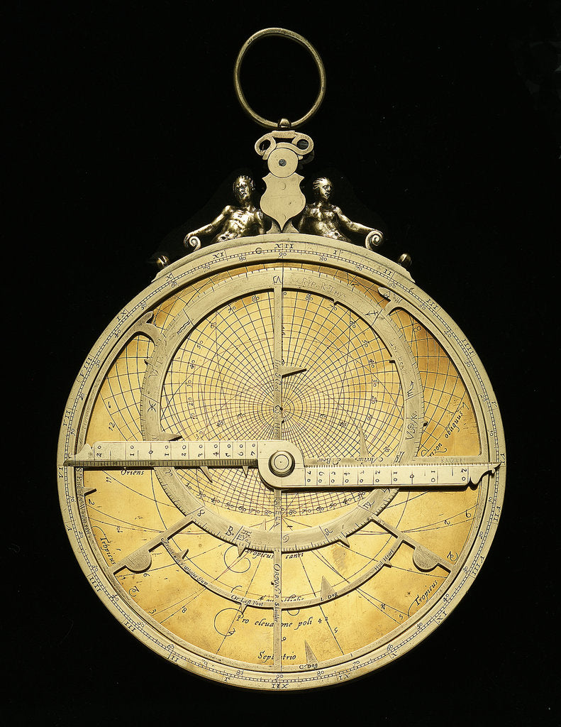 Detail of Astrolabe: mounted obverse by Ferdinand Arscenius