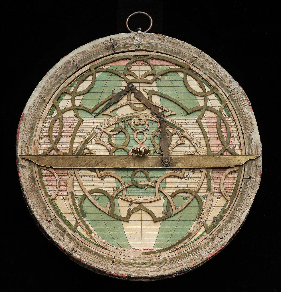 Detail of Astrolabe: mounted obverse by Nicolas Bion