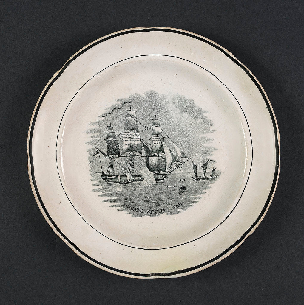 Plate by unknown