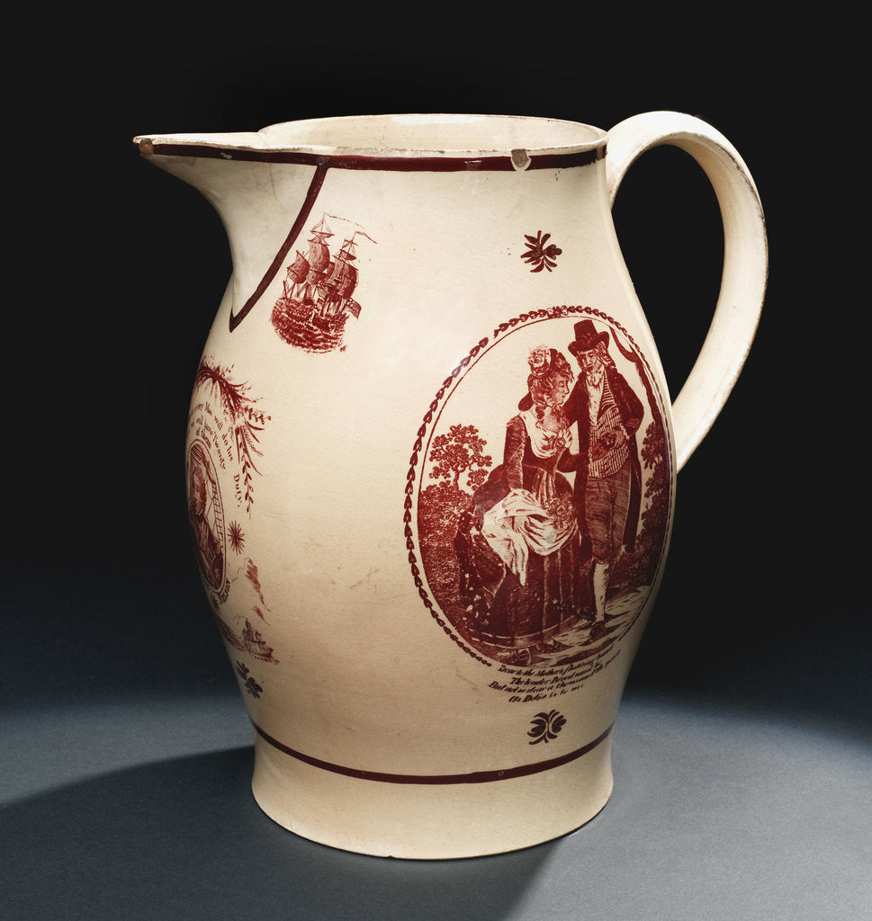Detail of Jug by unknown