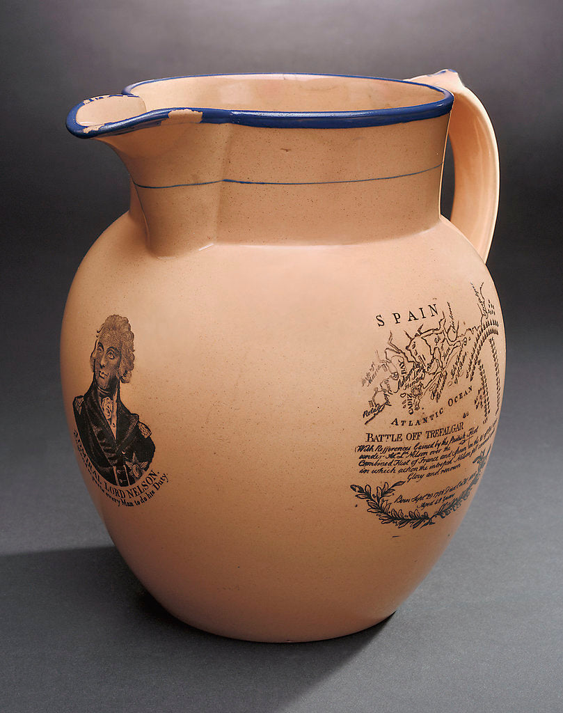Detail of Jug with buff glaze by David Wilson