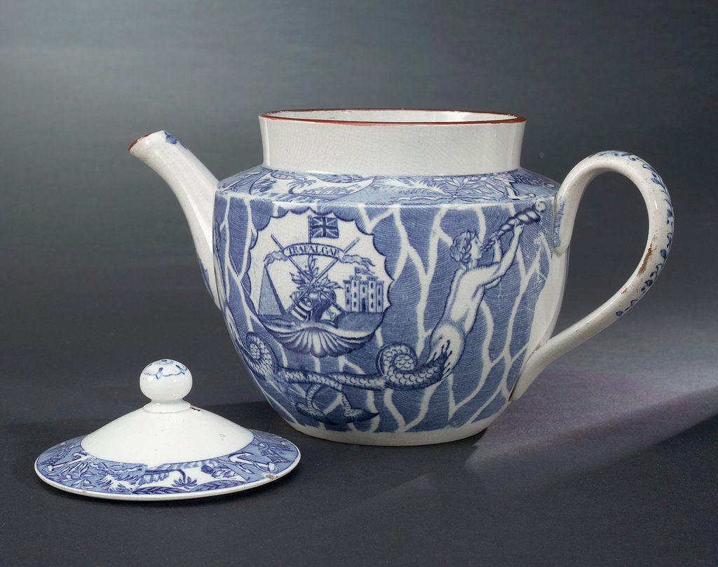 Detail of Teapot by unknown