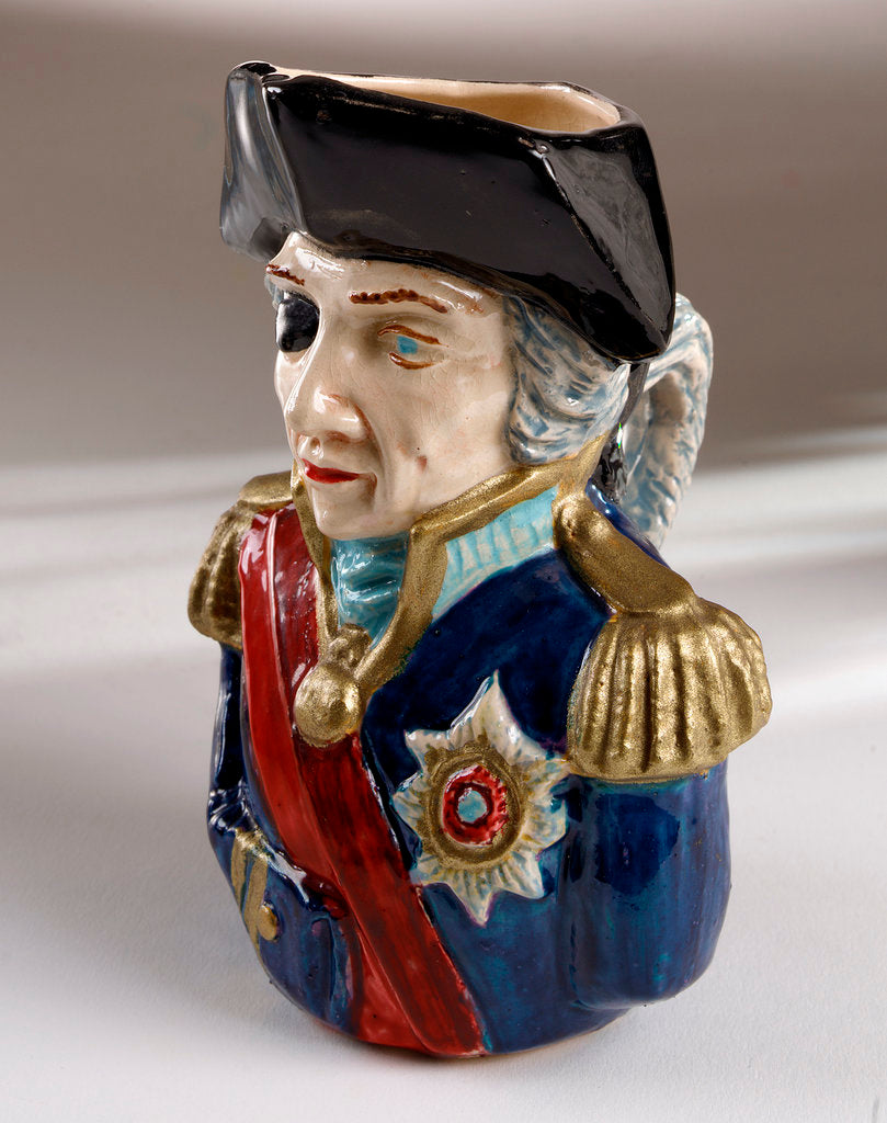 Detail of Toby jug by Holkham Studio Pottery