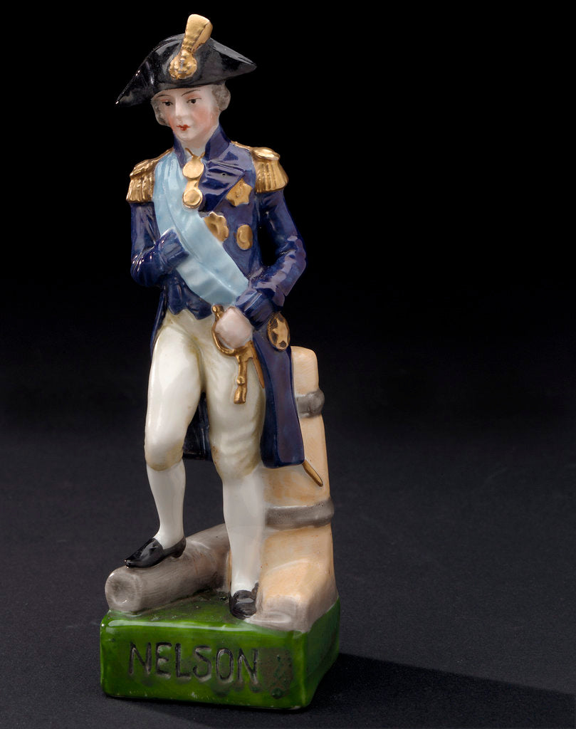 Detail of Figure of Vice-Admiral Horatio Nelson (1758-1805) by unknown