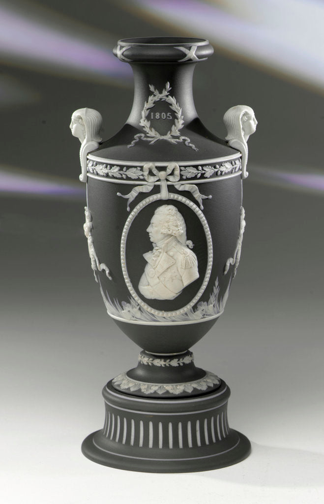 Detail of Vase commemorating Vice-Admiral Horatio Nelson (1758-1805) by Josiah Wedgwood & Sons Ltd.