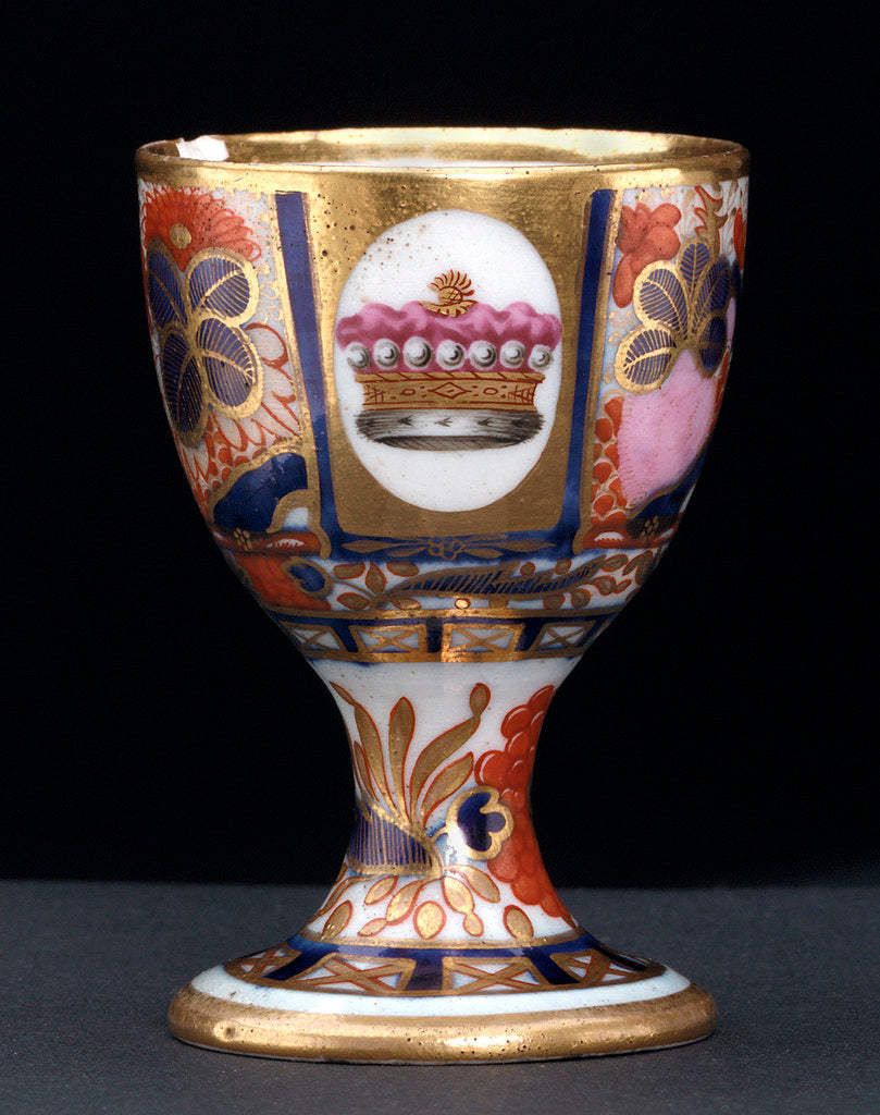 Detail of Egg cup by Chamberlains & Co.