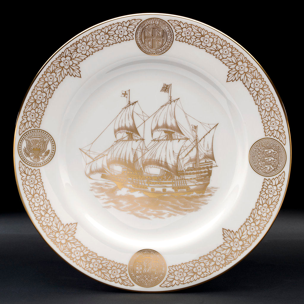 Detail of Plate by Josiah Spode